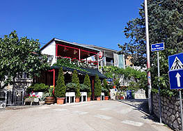 Terasa restaurant Palma Selce